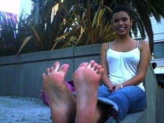 Deadly Putrid Cheerleader Feet!!!