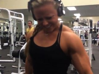 Dani Reardon Workout Session