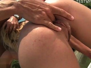 Horny Amateur Anal Strapon