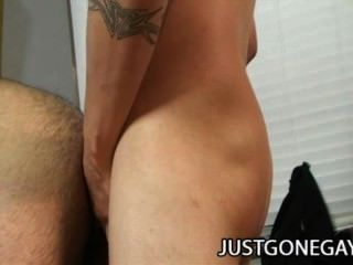 Rocke Hard And Gabriel Blue: First Time Gay Sex