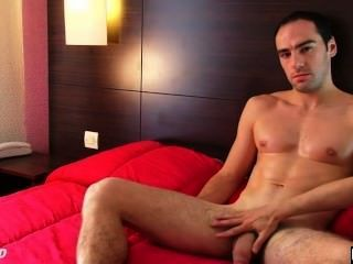 Cock Massage To A Real Straight Guy Serviced His Big Cock By A Guy!