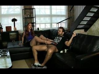 Home Pantyhose Footjob