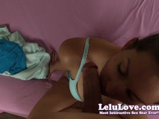Lelu Love-cheating Stories During Pov Blowjob Facial