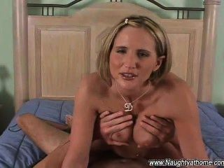 Naughty At Home Gets Fucked And Facialed