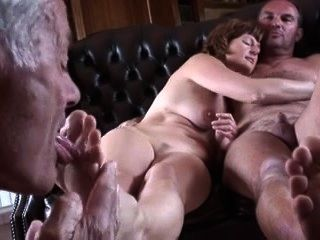 Cuckold Foot Licking