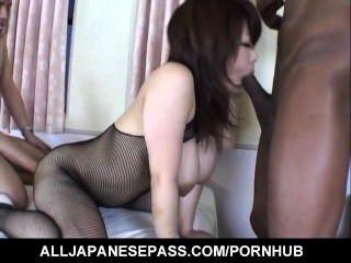 Busty Miu Satsuki Amazes With Her Porn Skills