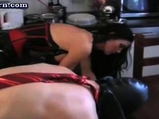 Hot Slut Doing Handjob And Pussy Gets Toyed