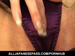Runa Sesaki Shows Off Nasty On Cam