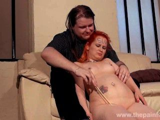 Spanked Girlfriends Erotic Domination And Amateur Bdsm Of Chubby Slave