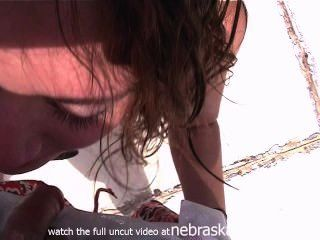 Pov Blowjob And Pussy Licking Out In Public Party Weekend On The Lake