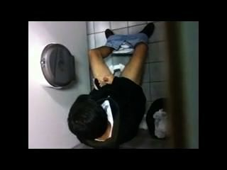Jerking Off In The Men_s Room Spy