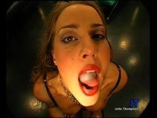 Magdalena - Gargles Cum Like A Slut