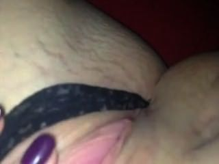 More Rubbing Her Juicy Pussy
