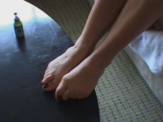 Sarah Blake Feet Lotion And Play Pt1