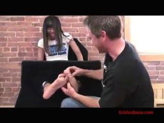 Tickleabuse - Native American Tickle