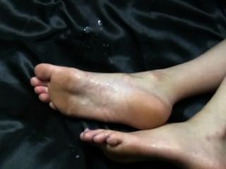3 Cumshot - Sole, Toe, Shoe
