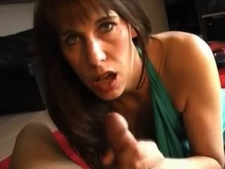 Milf Blowing A Cock So Good And Drinks Hubbys Sperm
