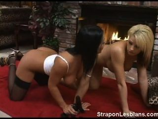 Brooke Get Strapon Lesbian Anal Punishment From Sandra
