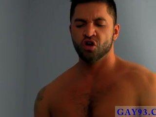 Hot Gay Breaking In The New Boy