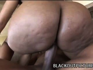 Koko Kabana - Big Ass Black Bitch Screwed By A Bbc