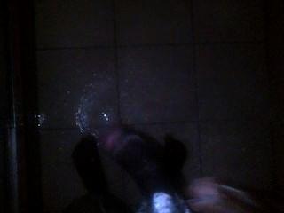 Jerking Off In Shower