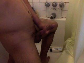 Jerkin In The Shower