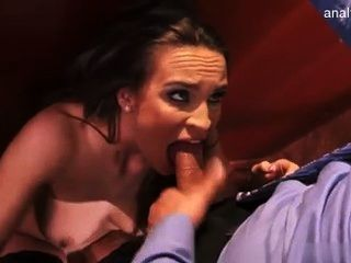 Office Slut Likes It Big Cock