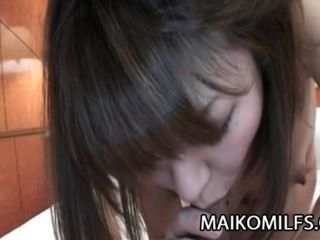 Asami Usui - Jav Cougar Drinks All The Cum