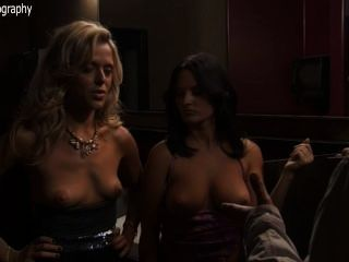 Jennifer Wenger Nude Topless And Anastasia Ganias Nude Too – Party Down