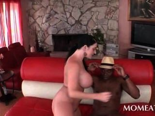 Busty Hoe Doing The Biggest Black Cock Ever