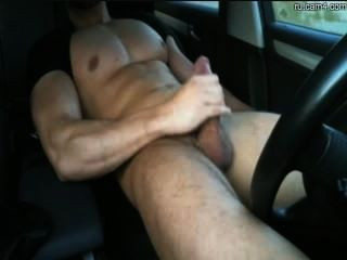 Emma jerks you off in a car 6