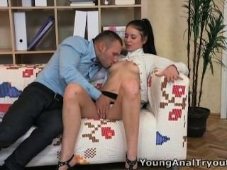 Young Anal Tryouts - Man Fucks Angelica Anywhere She Suggests