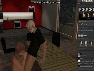 Thrixxx Chathouse Online Sex Video Game #12