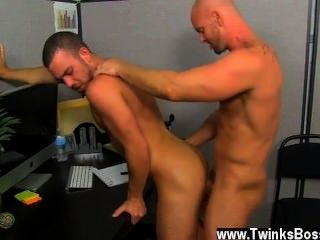 Gay Orgy Muscle Top Mitch Vaughn Slams Parker Perry