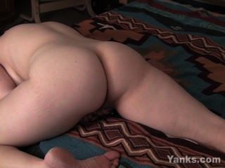Chubby Brunette Treasure Masturbating