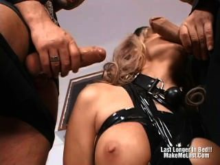 Horny Blonde Wants Three Bigcock To Fuck