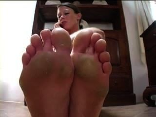 Phone Foot Worship