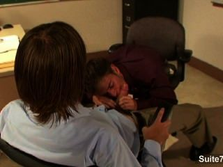 Sexy Gays Banging In The Office