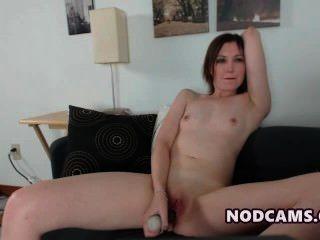 Redheaded Housewife Feeling Horny Fuckin