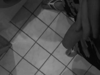 Danish Guy Shows Cock In Bathroom
