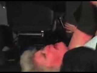 Lusty Grandma Effie Abducted And Fucked Hard In Van