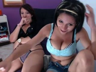 Niley Hott With Friend Teasing On Cam