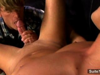 Sexy Gay Gives Blowjob And Gets Nailed