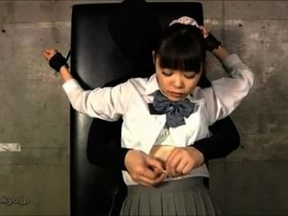 School Girl Tickling