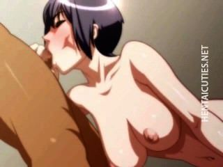 Brunette 3d Anime Bitch Suck Dick