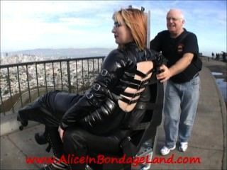 See San Francisco In Bondage Femdom Tourist Public Humiliation Mistress