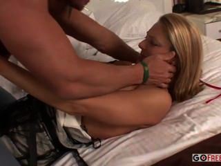 Hot Blonde Brenda Sucks Cock Gets Fucked Then Cum Time