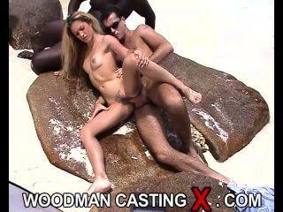Gorgeous Blonde Teen Erotic Photoshoot On Tropical Island