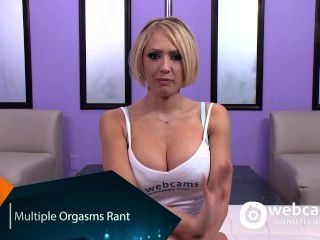 Live Show Interview Multiple Orgasms, Kagney Karter