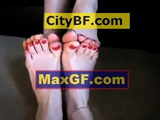 Footsie, Foot Hot, Toe Wrestling Tanya & Lana Hot Lesbian Girl